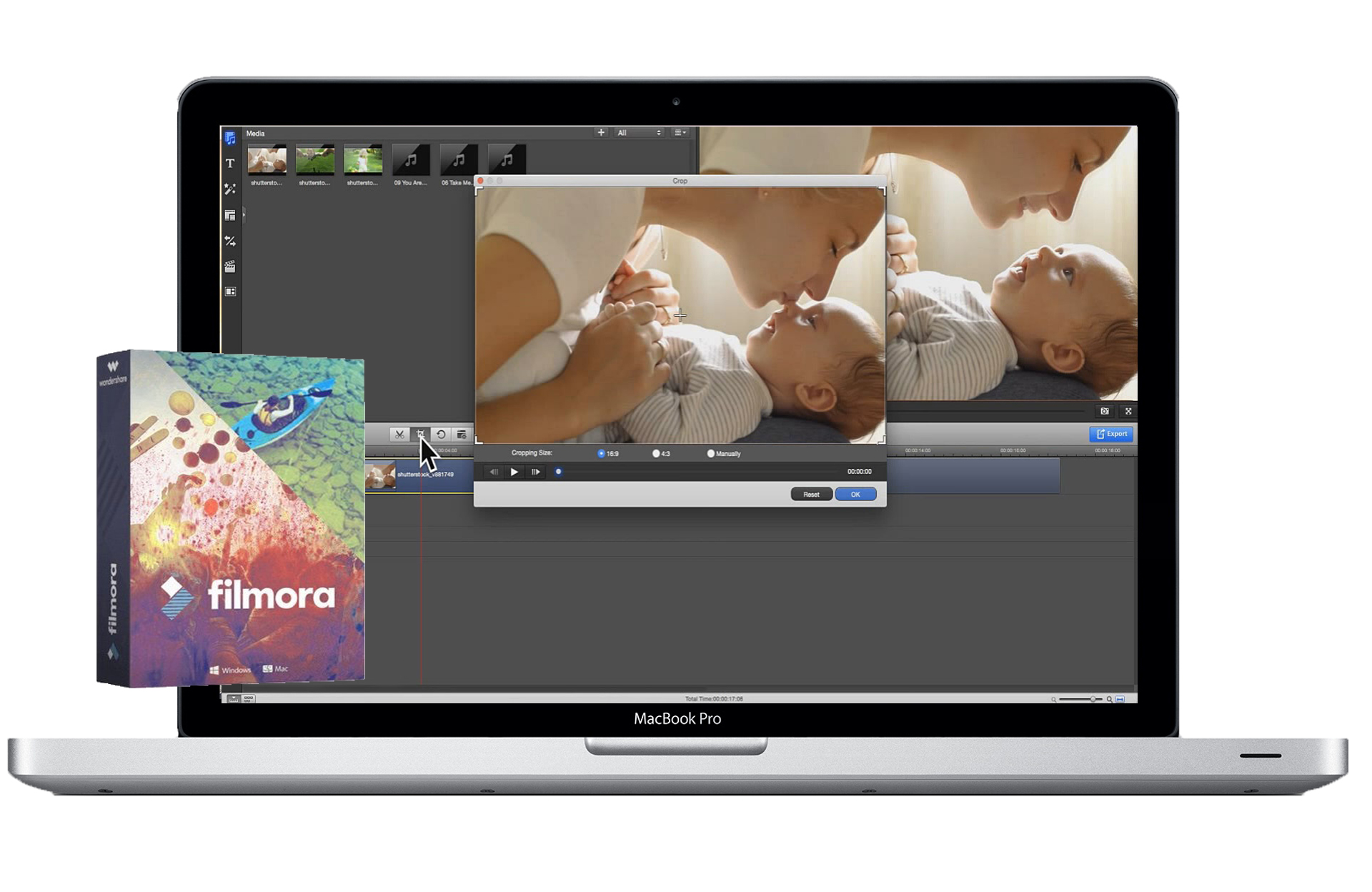 mac video editor imgae
