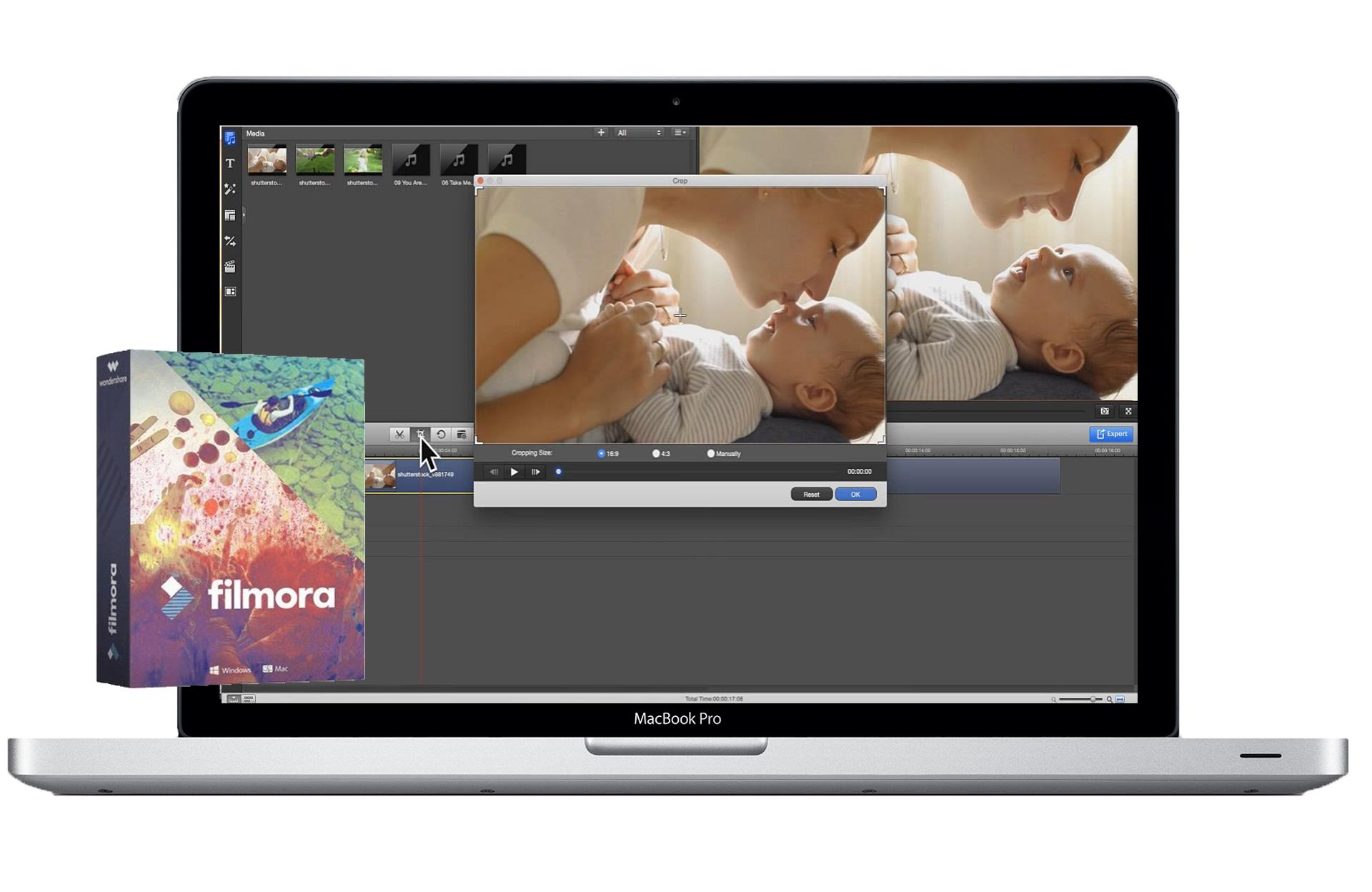 mac video editor imgae