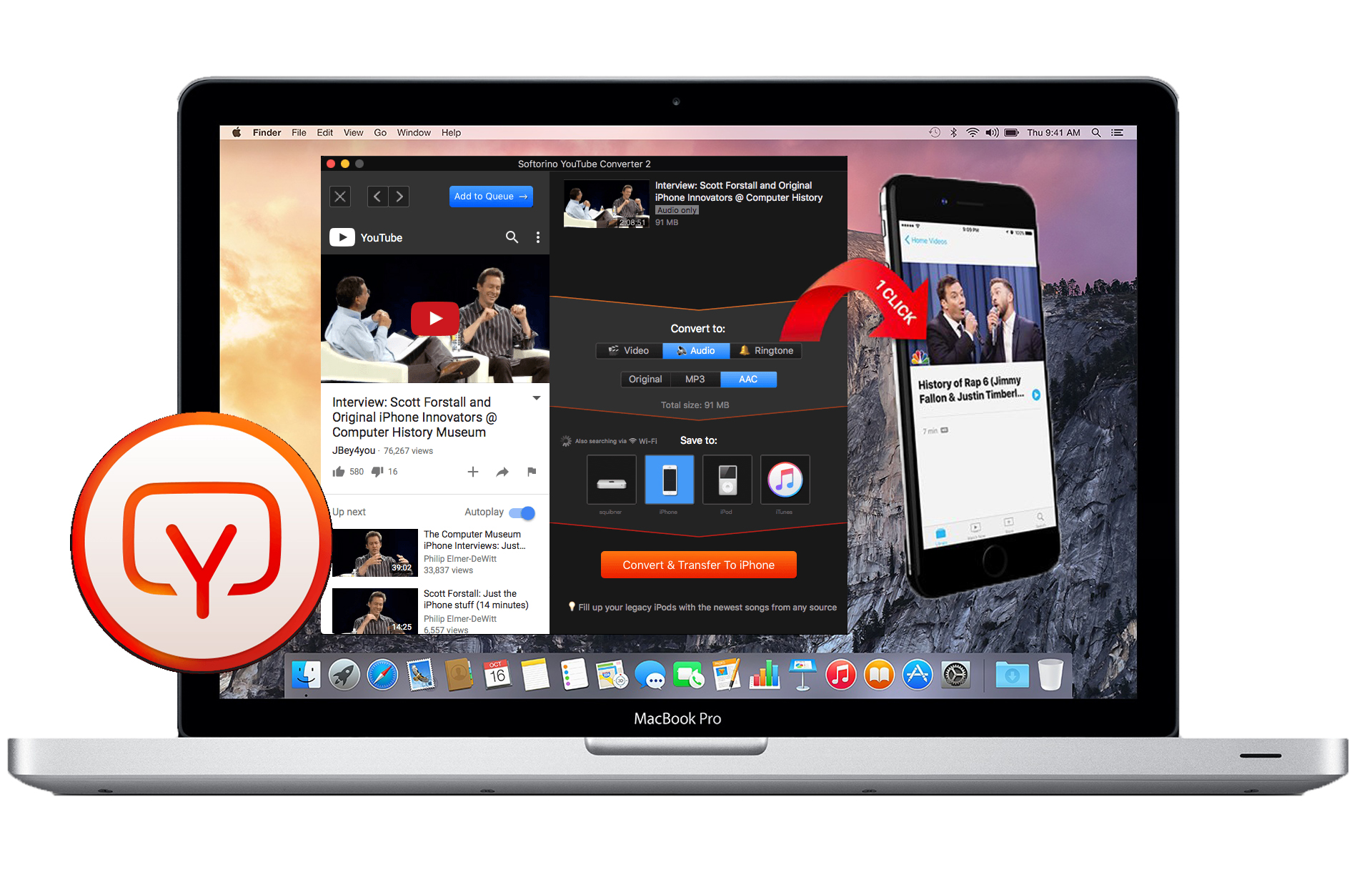 Mac YouTube Converter banner image