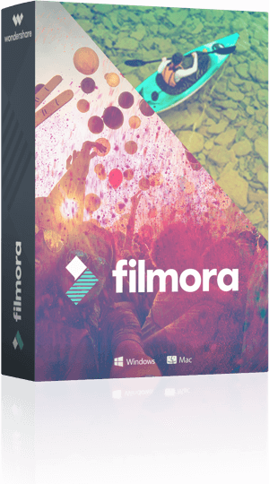 filmora video editor for Mac logo