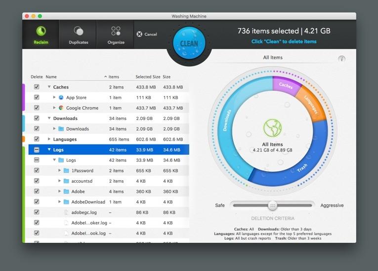 best mac cleaning software Intego Mac Washing Machine X9