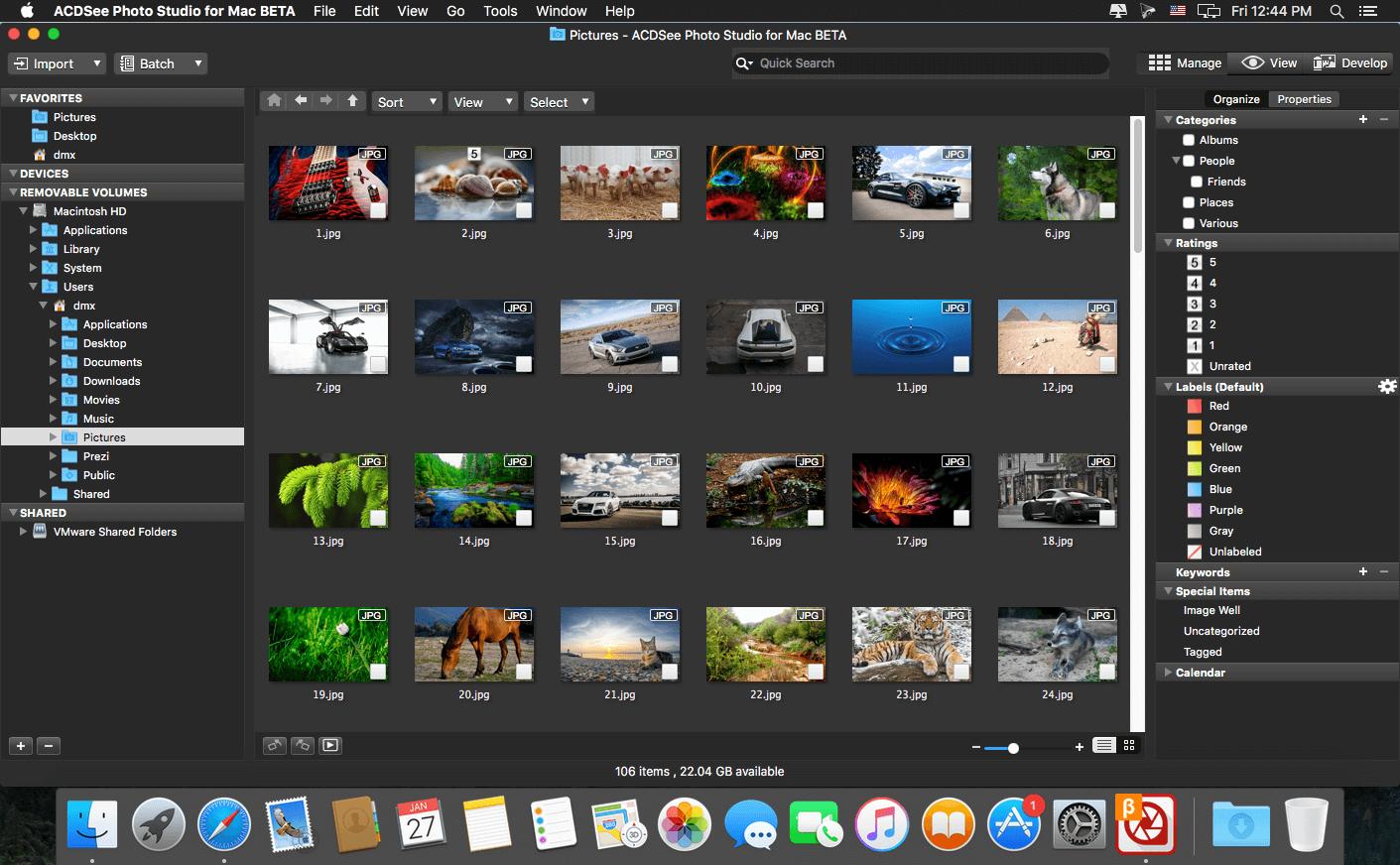 Best Mac photo editor - ACDSee Photo Studio