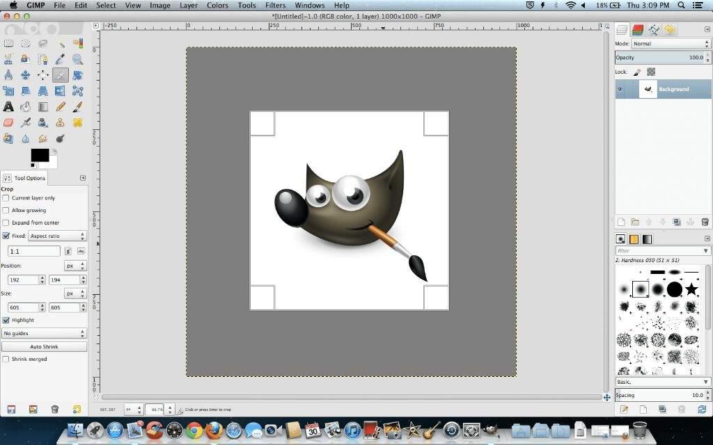 Best Mac photo editor - GIMP