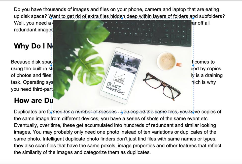 edit pdf with PDF Expert scr