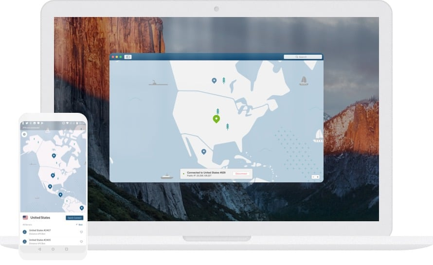 NordVPN works on Mac and mobile