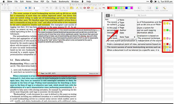 skim pdf editor to edit PDF on mac