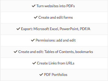 PDFpen pro extra features