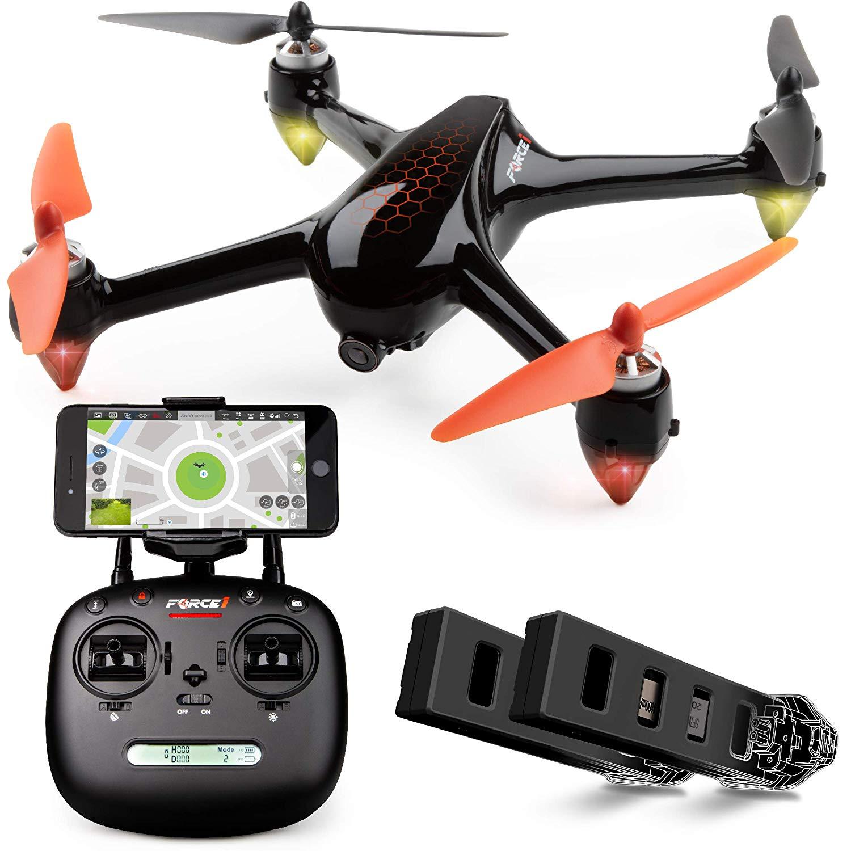 longest flying drone - Force Shadow Hex