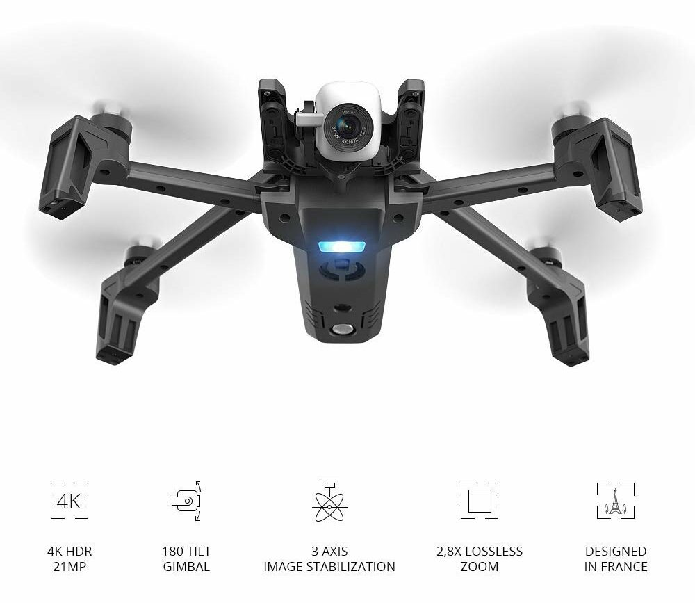 longest flying drone - Parrot PF728000 Anafi drone