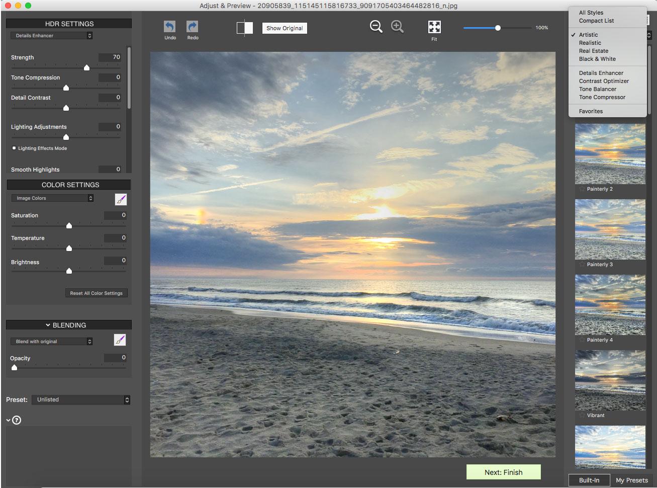 Photomatix Pro 6 style