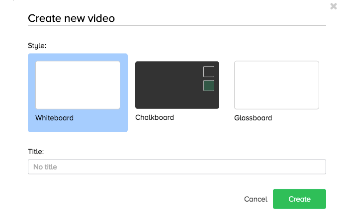 Doodly board option
