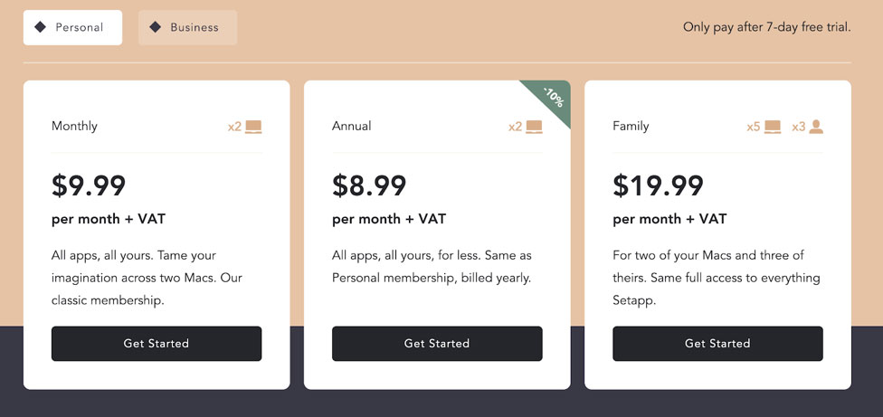 SetApp price